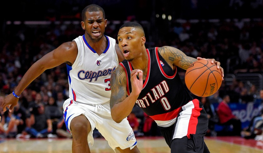 Damian Lillard, Chris Paul